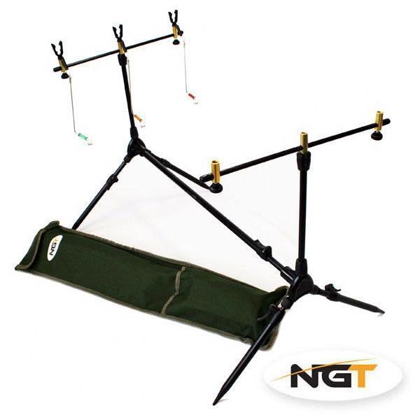 NGT Karpfen Angelrute 3 Gehäuse Set 3 Angelrute X Schwarz Bissanzeiger Indikator Swinger & 7e5805