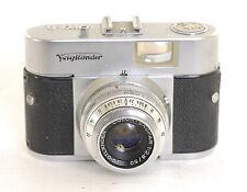 Voigtlander Vito  B Camera + 50mm f2.8 Spokar Lens (0289)