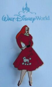 Disney-Store-Shopping-JESSICA-Rabbit-POODLE-Skirt-High-School-LE-250-Pin-DLR