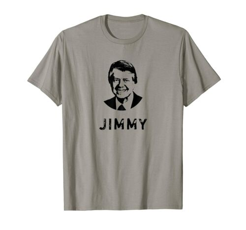 President Jimmy Carter T-Shirt Funny Cotton Tee Vintage Gift For Men Women