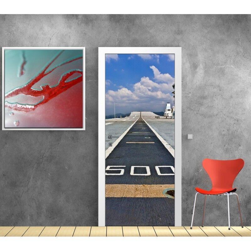 Aufkleber Tür Kugelbahn Tür Flugzeug- 872