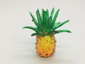 Pineapple-Blown-Glass-Fruit-Figurine-Painted-Hand-Blow-Art-Souvenir-Decor-gift