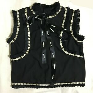 Black-top-with-frills-and-bow-with-logo