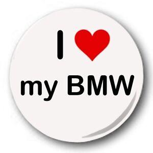I-Love-My-BMW-2-5cm-25mm-Insigne-de-bouton-NOUVEAUTE-Mignon-C-ur
