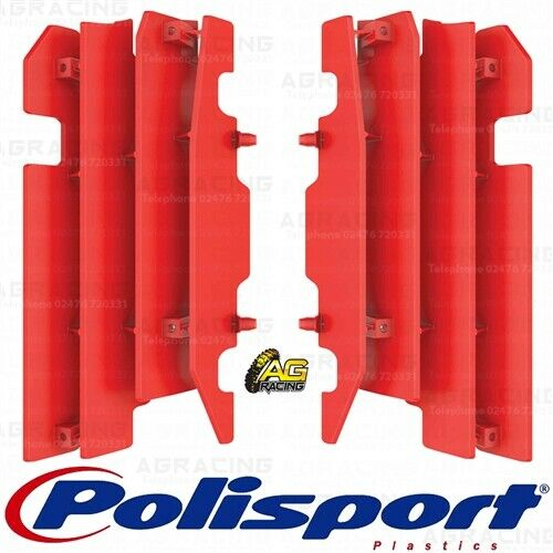 Polisport Radiator Louvres Grills Red CR 04 For Honda CR 125R 250R CRF 450R 2004