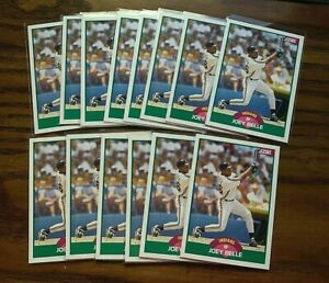 1989-Score-Traded-106-Joey-Belle-RC-Indians-14