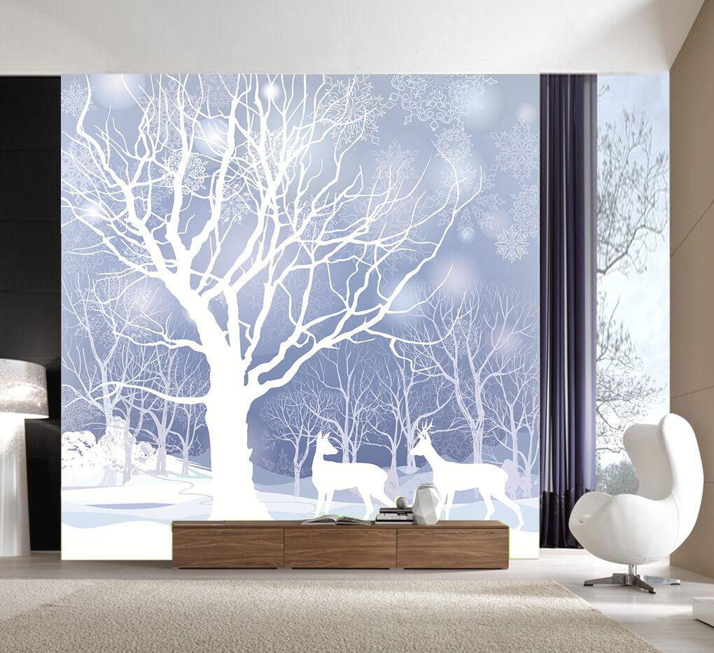 3D 3D 3D Snow Scenery 798 WallPaper Murals Wall Print Decal Wall Deco AJ WALLPAPER 6eb677