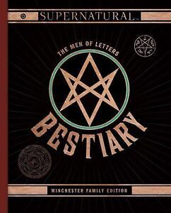Supernatural-The-Men-of-Letters-Bestiary-Winchester-Family-Edition-Hardback-o
