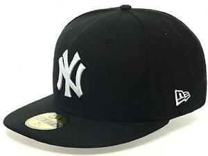 Caricamento dell immagine in corso NEW-Era-New-York-Yankees-Cap-Black-White- ec959823ffd0