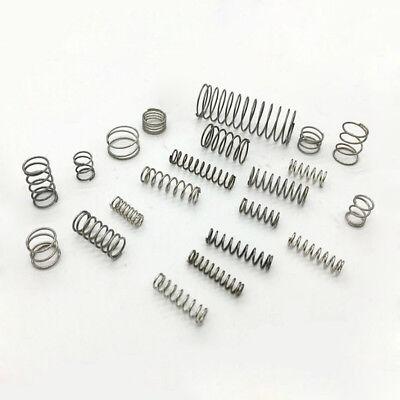 10Pcs Small Compression Springs 2.7mm 3.6mm 4.5mm 4.8mm 5.3mm 6.5mm 7.2mm OD