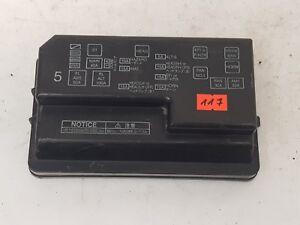 toyota corolla fuse box ebay toyota corolla e11 2001 1 9 d lhd fuse box plastic cover trim feo  lhd fuse box plastic cover trim feo