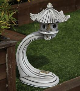 Details about Chinese Garden Ornaments , Small Curved Japanese Pagoda  Lantern