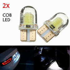 2X T10 W5W COB 8 SMD LED CANBUS Blanco Super Bright Turn Side License Bombilla