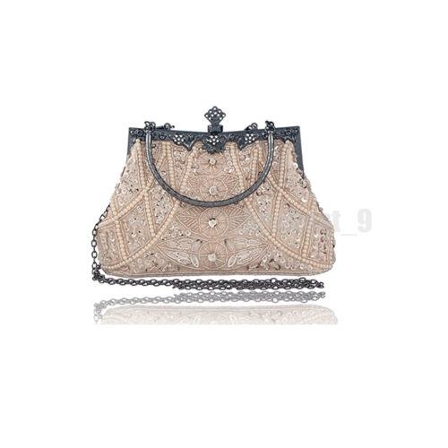Flapper 1920s Dress Vintage Gatsby Sequin Beads Fringe Dresses Costume Size 6-18
