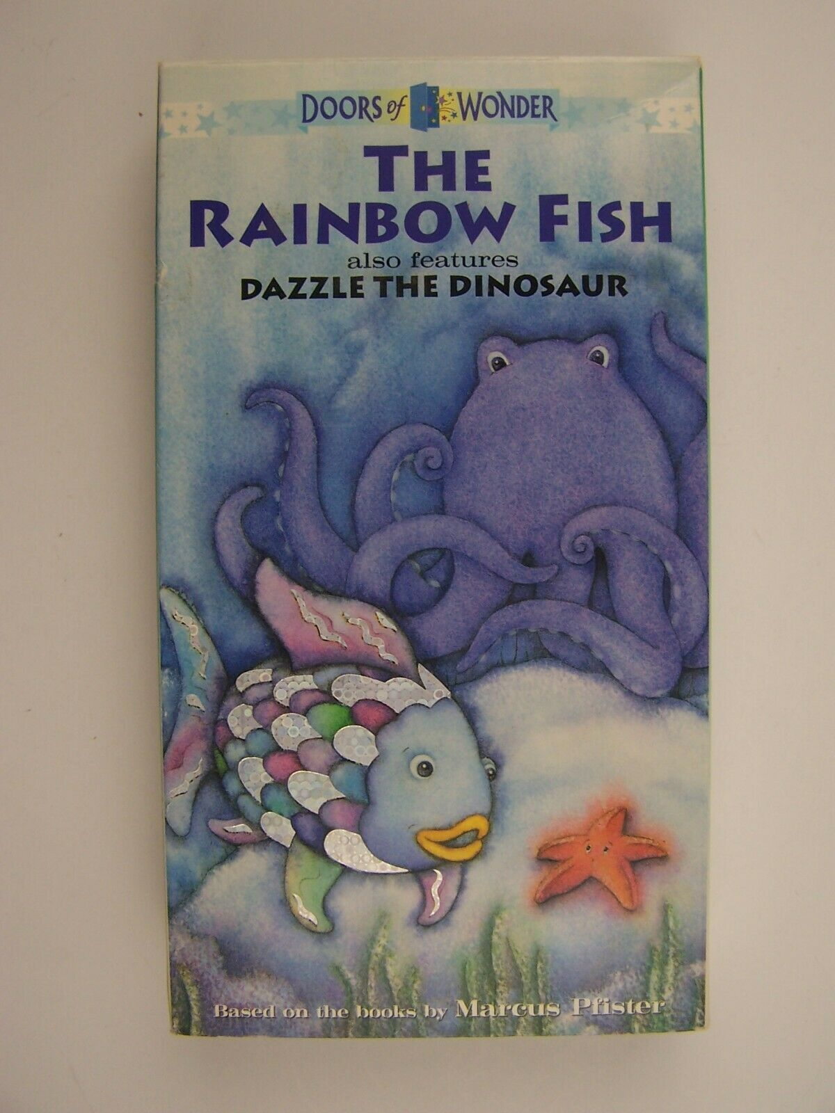 The Rainbow Fish and Dazzle the Dinosaur VHS 7464499443