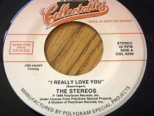 THE STEREOS - I REALLY LOVE YOU / HORST JANKOWSKI - A WALK IN THE BLACK FOREST