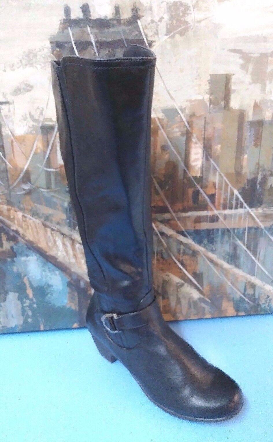 CROFT & BARROW Womens Boots Black Sz 10 M
