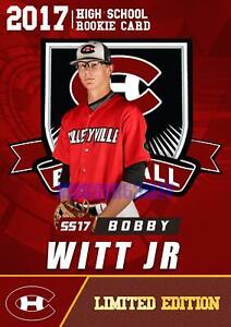 2017-BOBBY-WITT-JR-COLLEYVILLE-HIGH-SCHOOL-ROOKIE-GEMS-RC-2-DRAFT-PICK-ROYALS