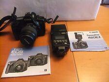 Canon EOS 620 35mm SLR Film Camera includes Speedlite 420 EZ and 2 Lenses