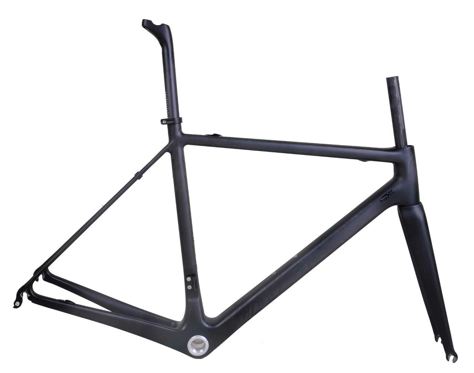 950g 56cm PF30 Carbon Road Bike Frame Fork Seatpost Internal Di2 UD Matt Race 25