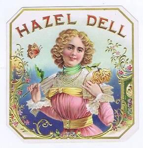 Hazel Dell, Original Externe Cigare Boîte Label, Femme Tmhuoapr-07221148-639691379