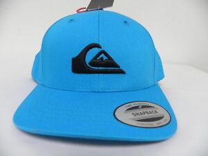 56 cm New Quiksilver Boy/'s 2-7 Flat Bill Snapback Hat Cap Adjustable 50 cm
