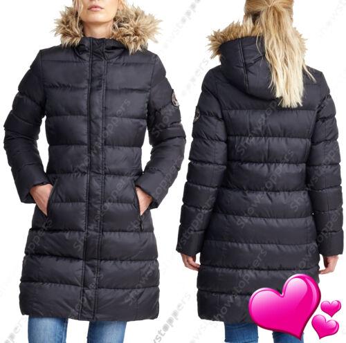 GIRLS NEW PARKA COAT HOODED PARKA JACKET Padded CLOTHING AGE 7 8 9 10 11 12 13