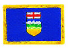 FLAG PATCH PATCHES ALBERTA PROVINCIAL IRON ON EMBROIDERED SMALL CANADA