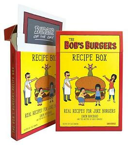 Bob S Burgers Burger Recipe Box By