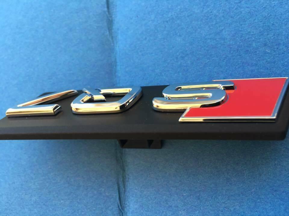 AUDI SQ7 4m inscription arri/ère lat/éralement Original Carrosserie Embl/ème chrom/é auto-adh/ésif
