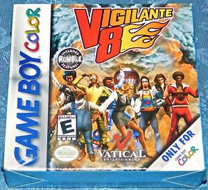 Vigilante 8 Nintendo Game Boy GAMEBOY Color GBC GAME NEW Factory Sealed NES Rare