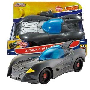 Justice-League-Batman-Batmobile-Figurine-Attack-et-Piege-Dc-Mattel-Mattel