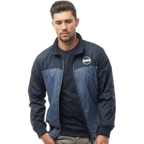 XL RRP L £ 99 Firetrap Para Hombre Abrigo Chaqueta Nylon kilomete Nuevo Azul Marino Oscuro Talla M