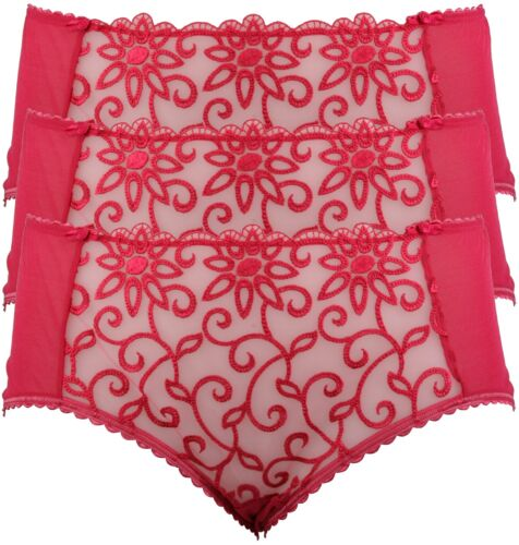 Lucky Susa Lace Shortie Knickers Hot Pink