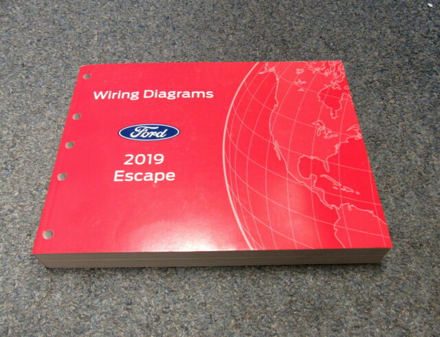 2019 Ford Escape Electrical Wiring Diagrams Service Manual