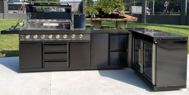 Beefeater Bd77012 Discovery Outdoor Kitchen Cabinet With Sink For Sale Online Ebay
