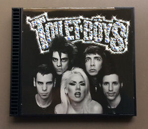 TOILET-BOYS-Toilet-Boys-CD-VG-2001-Enhanced-14-Tracks-Glam-Punk