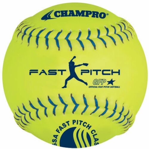 "Champro 12/"" USSSA .47 Cor Fastpitch Softball Dozen"