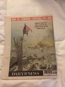 September 12th 2001 Daily News Day Of Terror Edition