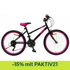 AMIGO Hardtail Mountainbike Power 26 Zoll 42 cm Mädchen 18G Felgenbremse Schwarz