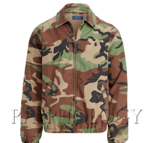 Polo-Ralph-Lauren-Bayport-Pony-Logo-Surplus-Camo-Camouflage-Windbreaker-Jacket