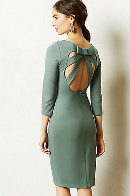 NEW S Anthropologie Crystal Structure Sheath Bailey 44. $178 Unique USA NIP Last