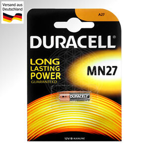 4-DURACELL-MN27-12-Volt-Alkaline-Batterie-L828-27A-A27-LR27-LR27A-A27S-V-DC-Pile