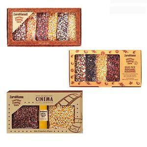 Assortiment Zaramamas Popcorn Gourmet Popping Corn Luxe Cadeau Boîtes (1 Fourni)-afficher Le Titre D'origine Quell Summer Soif