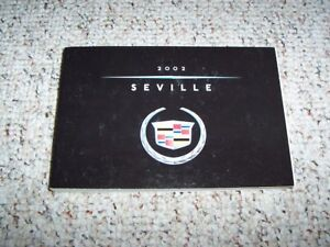 2002 cadillac sts owners manual