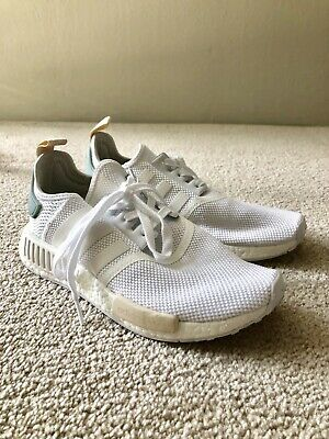 Adidas Womens Nmd R1 White Running Shoes Size 8 191037198652 Ebay