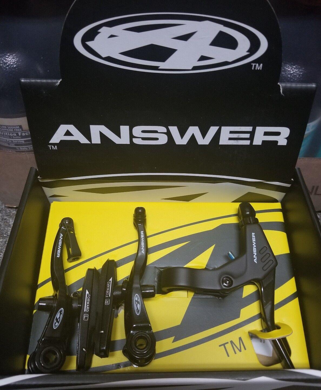 ANSWER Bmx Pro  Kit de freno en V Negro  Disfruta de un 50% de descuento.