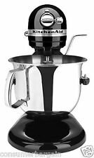 KitchenAid R-KSM6573OB 6QT 600 PRO HEAVY DUTY 10 SPd LIFT STAND MIXER ONYX BLACK