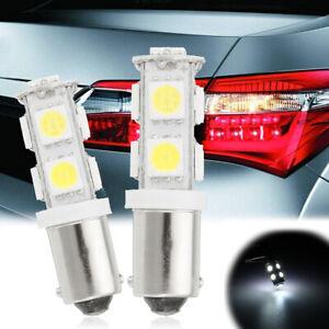 2x-H6W-BAX9S-9-LED-12V-Ampoule-Veilleuse-Feux-Position-Freinage-Blanc-6000K-Auto