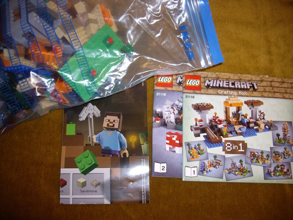 Lego Minecraft, 21116